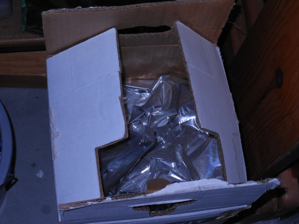 Water Storage - Mylar Bag Inside Box