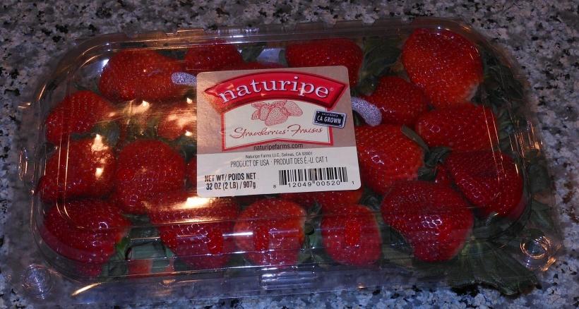 Strawberries from Sam's Club.