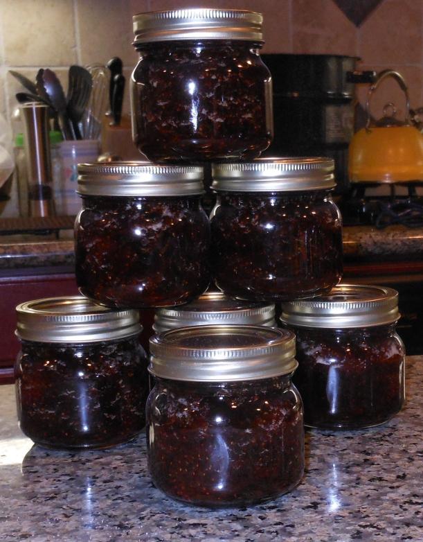 Lovely Strawberry and Vanilla Strawberry Preserves!