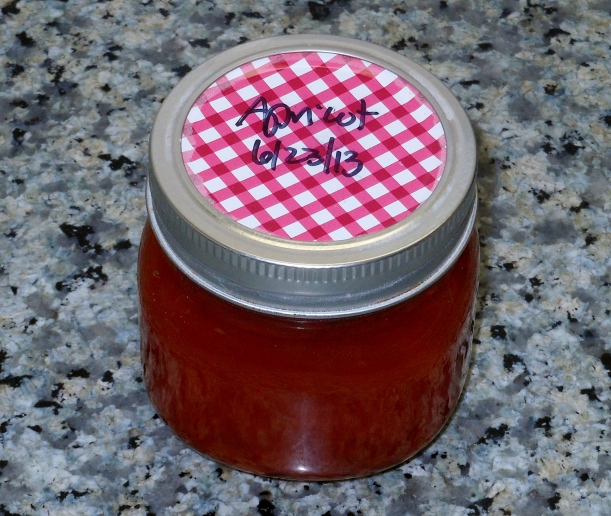 I put it in hot jars, processed it in the water bath canner, and they came out beautifully!