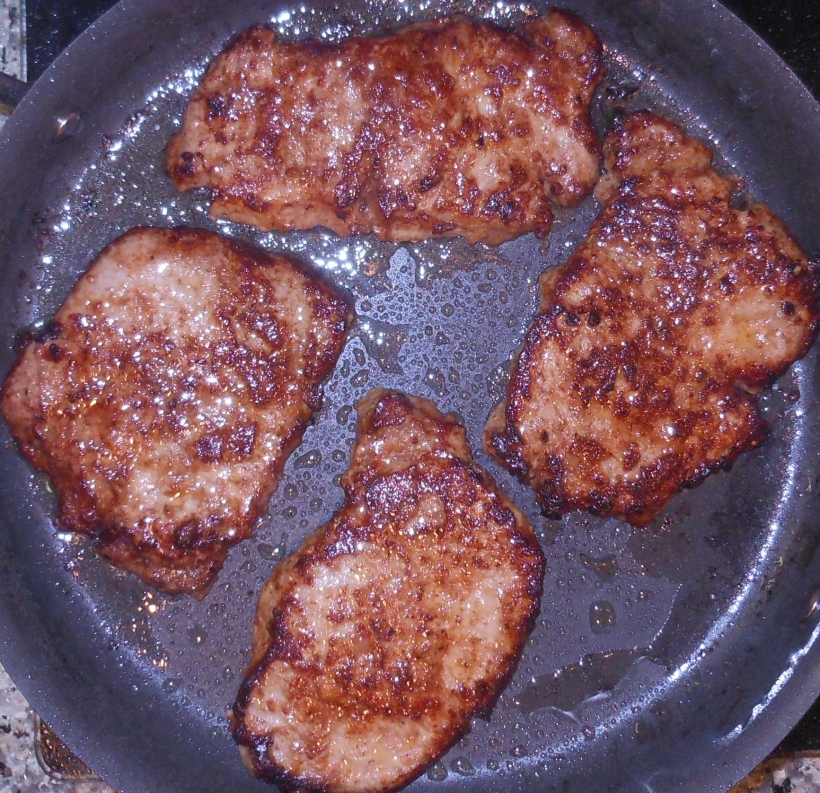 Here's the second set of chops.  They look just as good as the first set.
