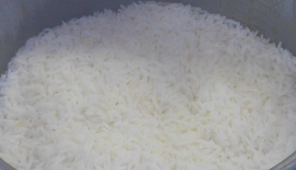 I made jasmine rice in my rice cooker.