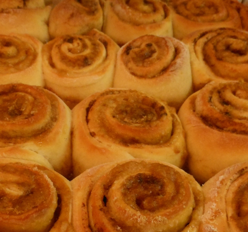 And more cinnamon rolls!