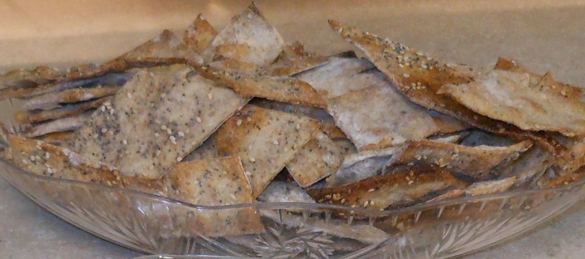 Artisan Wheat & Flax Crackers