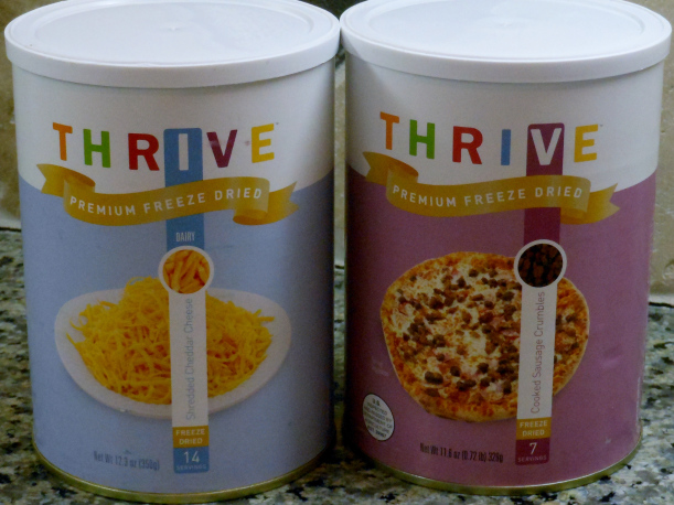 You can use these yummy freeze dried foods to make pizza, breakfast burritos, and so much more!