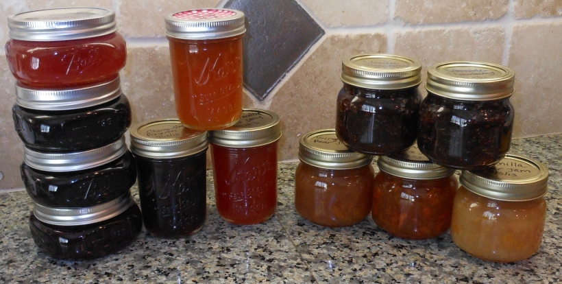 Here are the jams Jessica had to choose from.