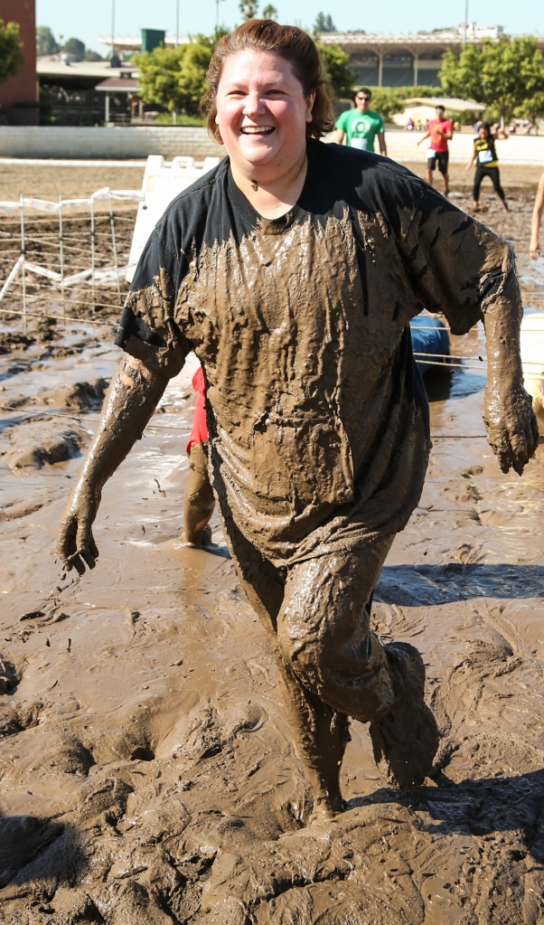 This was a muddy race!