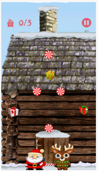 Here's another screen shot of Santa Climbers.