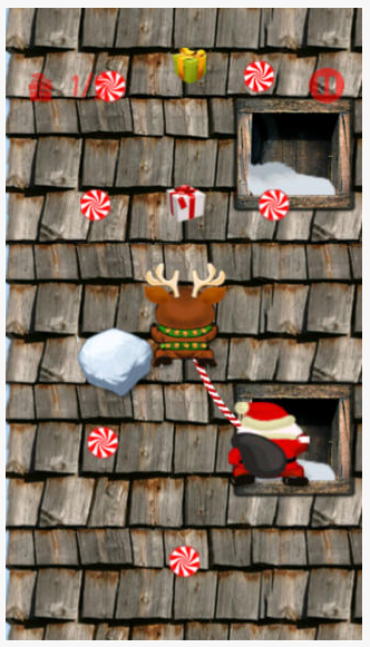 First up  is Santa Climbers.  This free climbing game has cute graphics and is a bit addictive.  See it here.