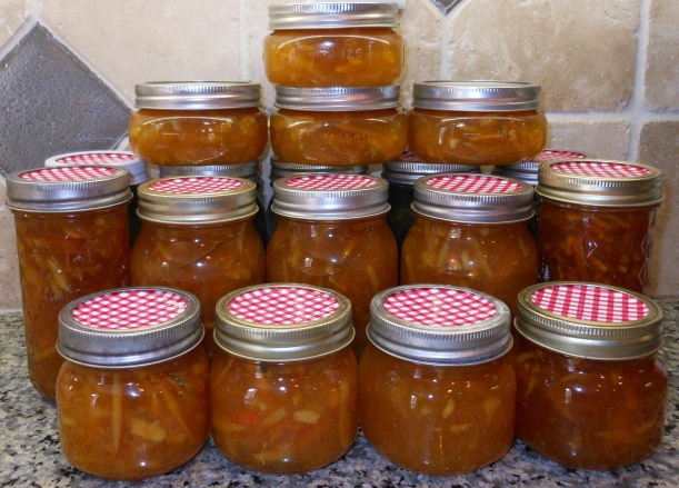 18 jars of marmalade in one day!
