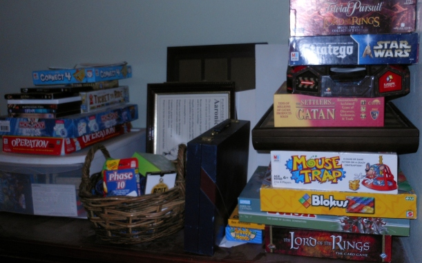 We have invested quite a bit in games, but I consider it bargain, especially compared to movies.
