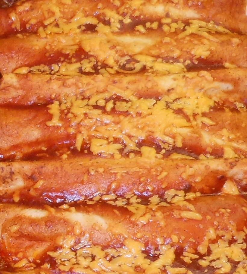 Easy, Delicious Americanized Enchiladas