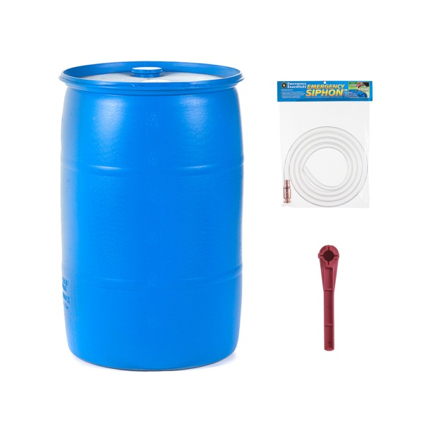 Emergency Essentials Water Barrel Combo Set for just under $93.